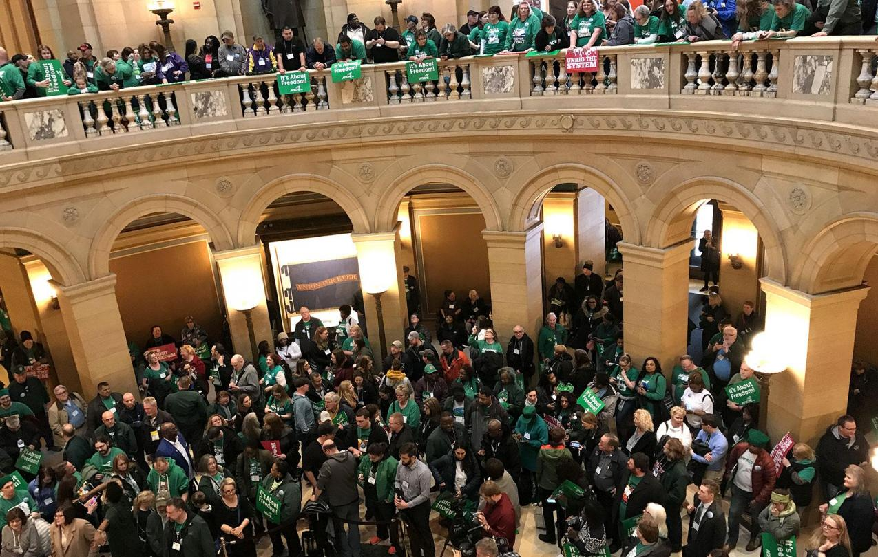 AFSCME Day on the Hill 2018