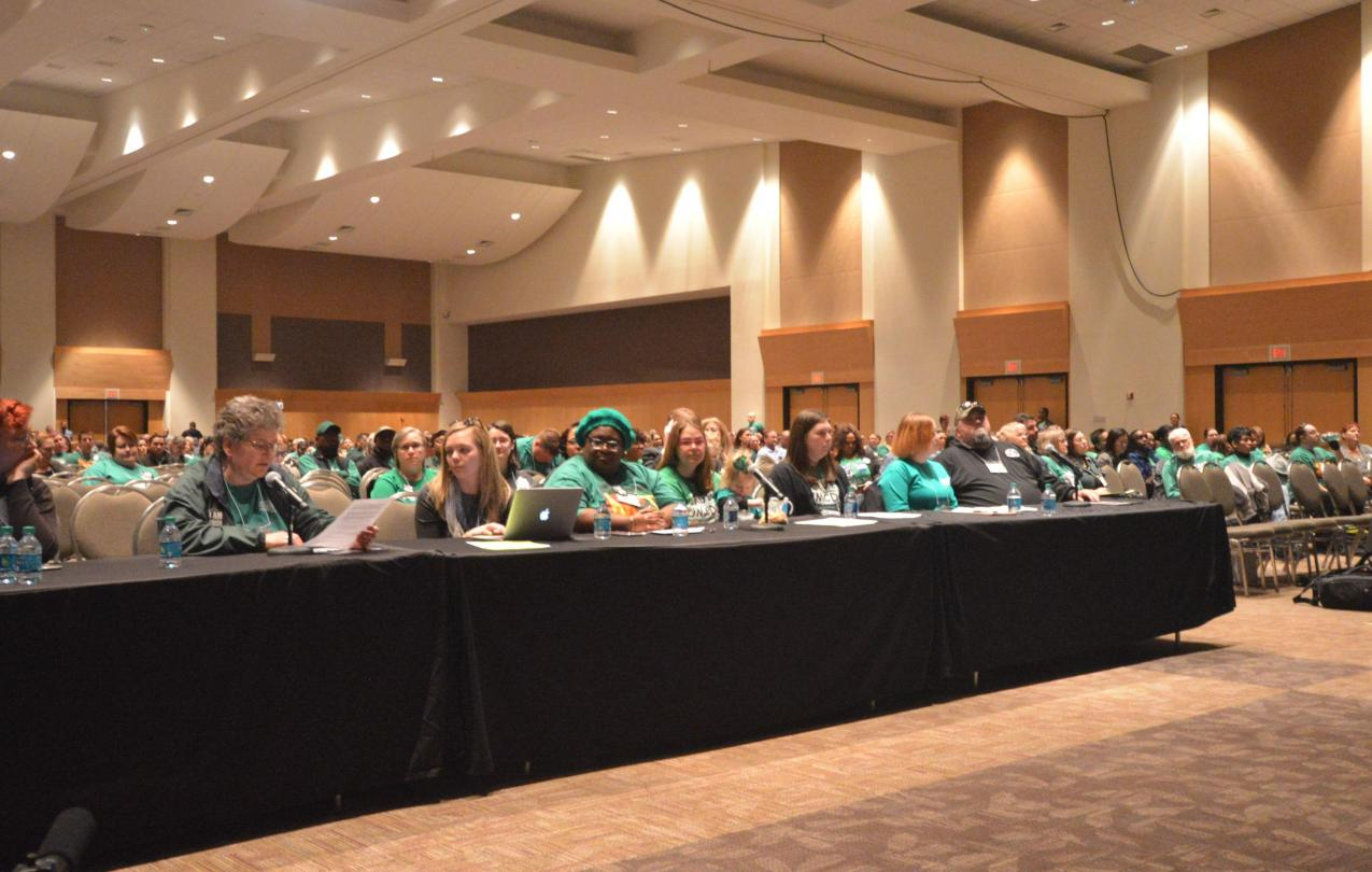 Members speak at Day on the Hill